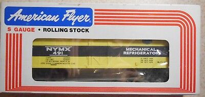 American Flyer S Gauge New York Central Nasg Commerative Reefer--Item #6-48436