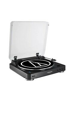 Audio Technica Fully Automatic BlueTooth Stereo Turntable System|AT-LP60WH-BT