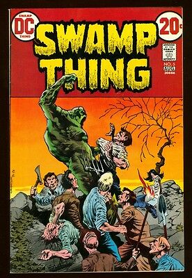 Swamp Thing 5 9.2 Near Mint 1973 Dc Wein Wrightson Horror White Paper High Grade