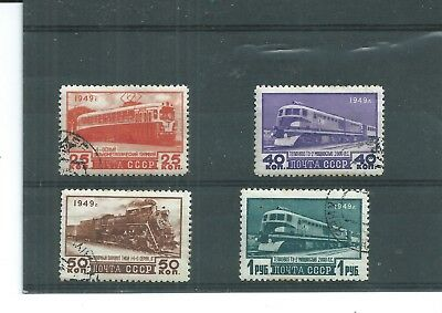 Ussr 1949. Transport Set.  Very Fine Used. As Per Scan