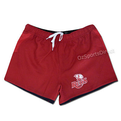 "Queensland Reds 2015 OnField Player Shorts - Size 2XL / 40"" *SALE PRICE*"
