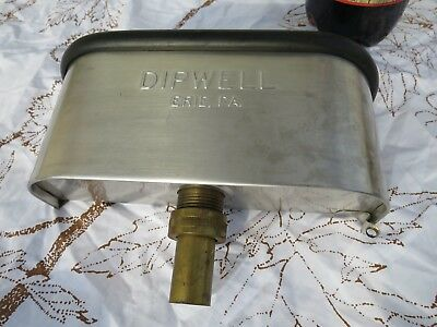 "10""  DIPWELL for  Ice Cream scoops,  used in excellent  condition"