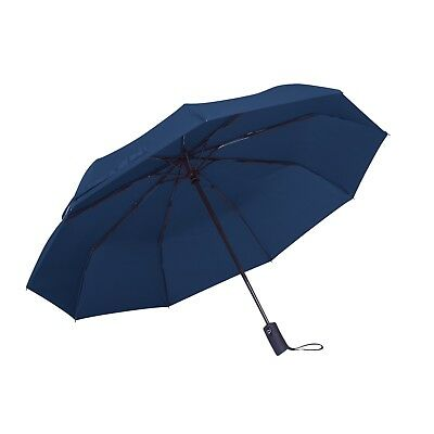 Rain-Mate Compact Travel Umbrella - Windproof, Reinforced Canopy, Ergonomic Hand