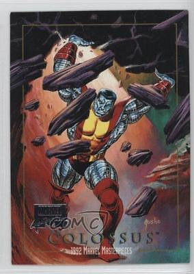 2016 Upper Deck Marvel Masterpieces #14 Colossus Non-Sports Card z3c