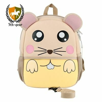 Safety Harness Backpack, Jenuther Waterproof Toddler Cool Mouse Backpack for Kid