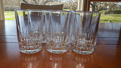 Clear Glass Juice Glass in Lancer by Arcoroc 6 4.5oz flat bottom glasses