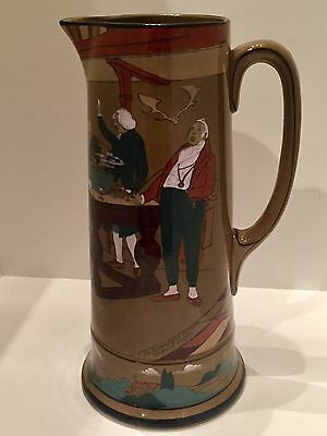 "Buffalo Pottery Deldare Ware 12"" Tankard - Fallowfield Hunt Supper. Perfect!"