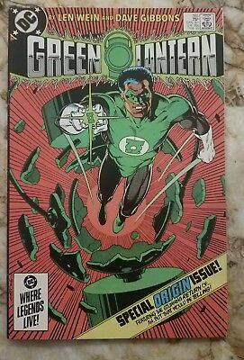 Green Lantern #185 Vf John Stewart 1 Origin Issue 1985 Key Dc Comic 1