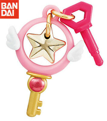 BANDAI Cardcaptor Sakura Unsealed Goods Gashapon Star Key Earphone Jack
