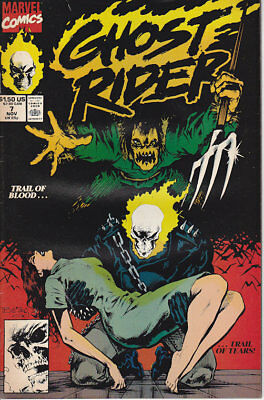 Ghost Rider #7 Marvel Comics 1990 FN Combined Shipping
