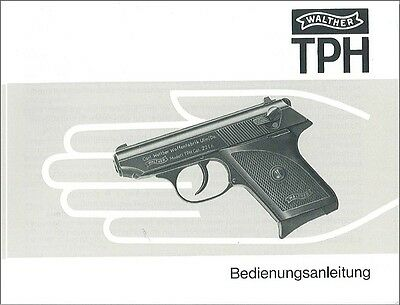 Walther Tph Pistol Instruction Manual On A Cd