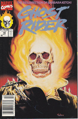 Ghost Rider #18 Newsstand Edition Marvel Comics 1991 FN/VF Combined Shipping