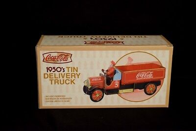 Xonex Vintage Coca-Cola 1930's Tin Delivery Truck (New)