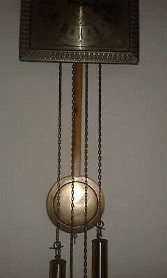 antique clocks weight driven ting tang