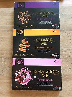 3 Slimming World Hi Fi Bars Salted Caramel, Rocky Road and Fruit and Nut