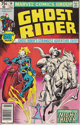 Ghost Rider #50 Marvel Comics 1980 FN Combined Shipping
