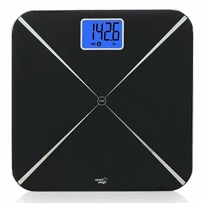 Smart Weigh Digital Body Weight Scale with Baby or Pet Tare Weighing Technology,