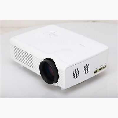 C0608 LED 1800LM Projector 1024 x 768 Pixels Support SD Card USB HDMI AV VGA Inp