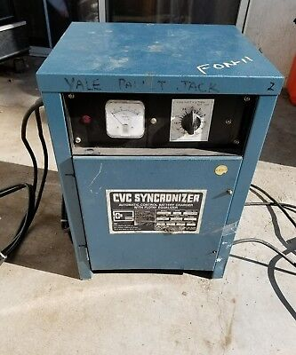 "IBE/CVC Battery Charger/Synchronizer 12 VOLT "" USED "" MODEL # 6CVC850SD"