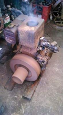 Fowler 1PD stationary engine