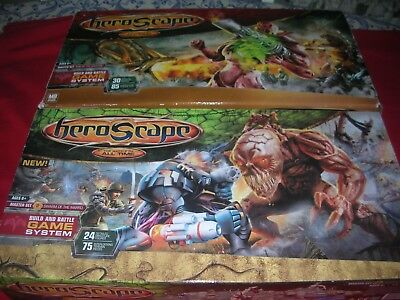 2 Heroscape Master Sets-Rise of Valkyrie + Swarm of Marro -100% Complete
