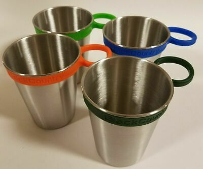 4 Pack, 12 oz Stainless Steel Cups Kids Toddlers BPA Free Dishwasher Safe Stack