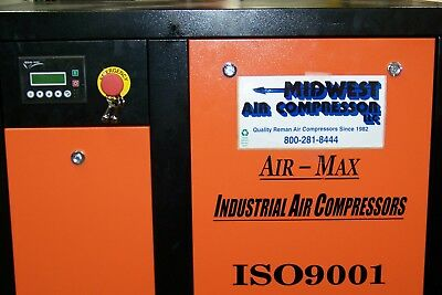 Air-Max 7.5 hp 1 phase AMB-7STMD120V (NEW) Ind. Rotary Screw Compressor 120Vert.