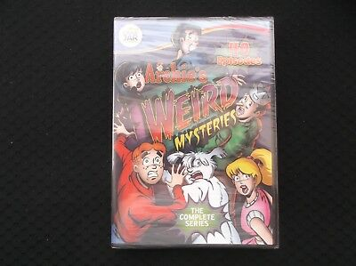 Archies Weird Mysteries: The Complete Series (DVD, 2012, 4-Disc, 40 Episodes #T2