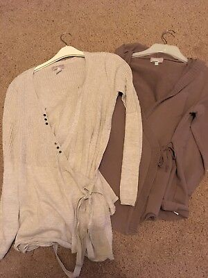 Small Maternity Bundle Verbaudet Wrap Cardigan Tracksuit Top Jacket Size 10/12