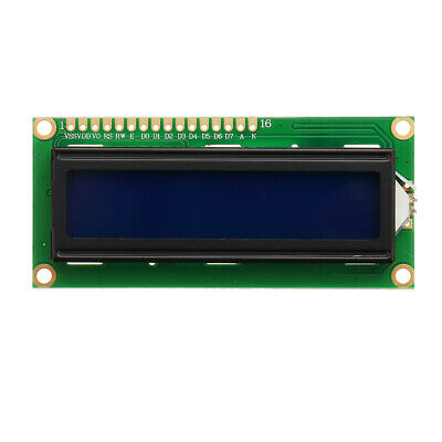 1Pc 1602 Character LCD Display Module Blue Backlight