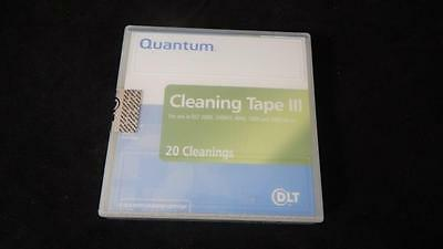 DLT Quantum Cleaning Tape III 0.5 Inch Cleaning Cartridge THXHC02 FACTORY SEALED
