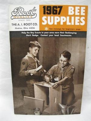 1967 Root Bee Supplies Catalog Beekeeping Vtg Honey Antique Boy Scout Badge Book