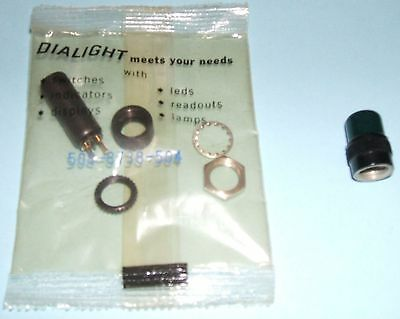Dialight Lamp Holder 508-8738-504 (NIP) & Green Lens for Vox Amps: Free Ship!