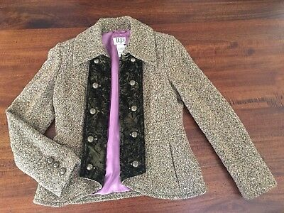 Jacket/blazer. Wool Tweed M