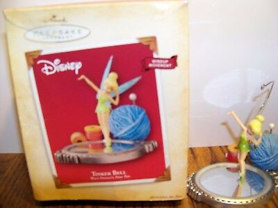 TINKER BELL Hallmark Keepsake Ornaments 2004 Windup Action