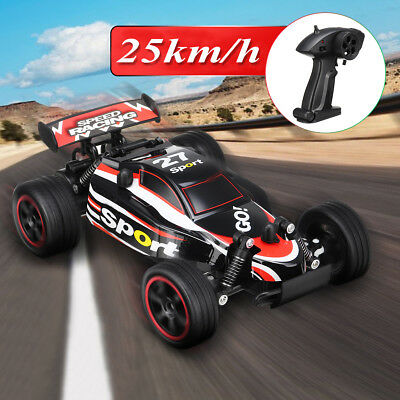 1:20 25km/h Red Electric Remote Control Car RC High Speed Truck Off Road Monster