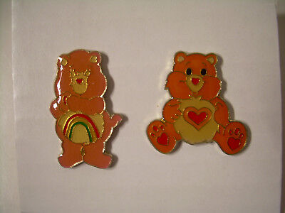 Care Bear Pins Vintage from the 80's