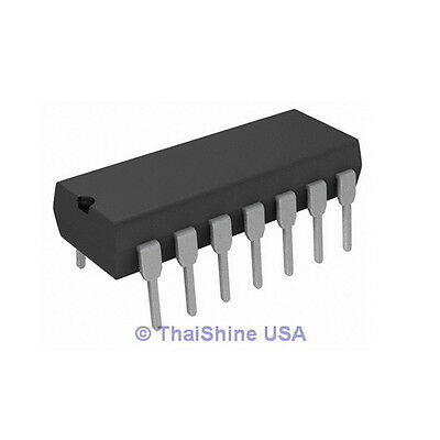 5 x CD4069UBE CD4069 4069 Hex Inverter IC - USA SELLER - FREE SHIPPING