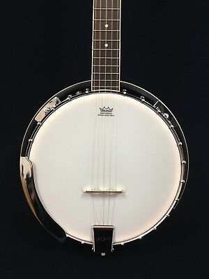 Brand New Caraya BJ-005 Mahogany Resonator 5-String Banjo w/Free gig bag