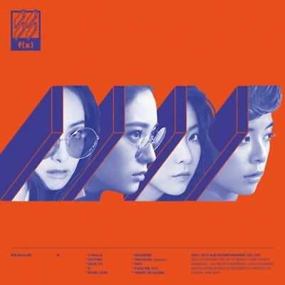 F(X) fx-[4 WALLS] VOL.4 4th Album CD+Booklet+Photocard K-POP