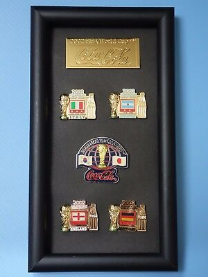 Coca Cola FIFA World Cup Champions / 2002 World Cup Memorial Pin Set
