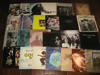 (6) 70s Rock Jazz Soul 80s Etc Records lp Vinyl Music Mix Original Albums VG++