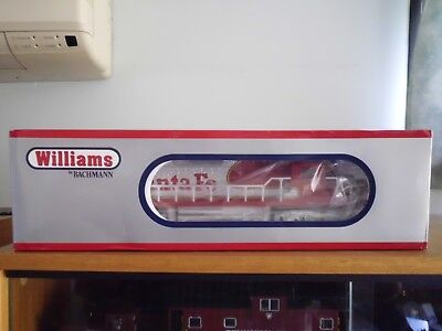 New Williams O Gauge 3-Rail Santa Fe Diesel Locomotive