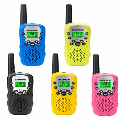 2/4/6/8x Baofeng Walkie Talkie Amateurfunk Kinder Handfunkgerät Flashlight 3KM