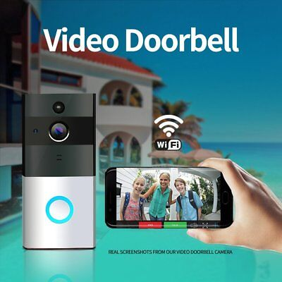 AU Wifi Wireless Video Camera Doorbell Intercom Security Monitor Home Phone OZ