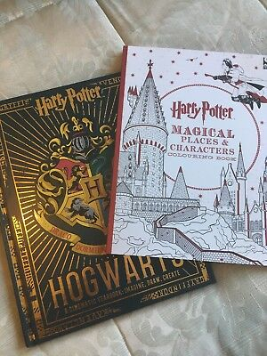 BN Harry Potter Colouring Book And Cinematic Yearbook