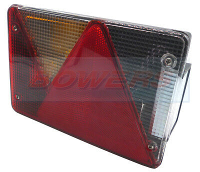 Aspock Multipoint 4 Iv Rear L/H Tail Light Lamp Ifor Williams Brenderup Trailer
