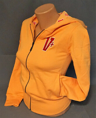 Veltins V+ Bier Beer Damen Woman Sweat Jacke Zipper Gr. S Orange B-Ware NEU