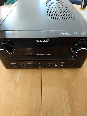 Teac CR H258i CD Receiver with ipod dock - excellent condition