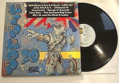 STREET SOUNDS HIP HOP 20 LP EX VINYL Rare 1988 Original Streetsounds Old Skool